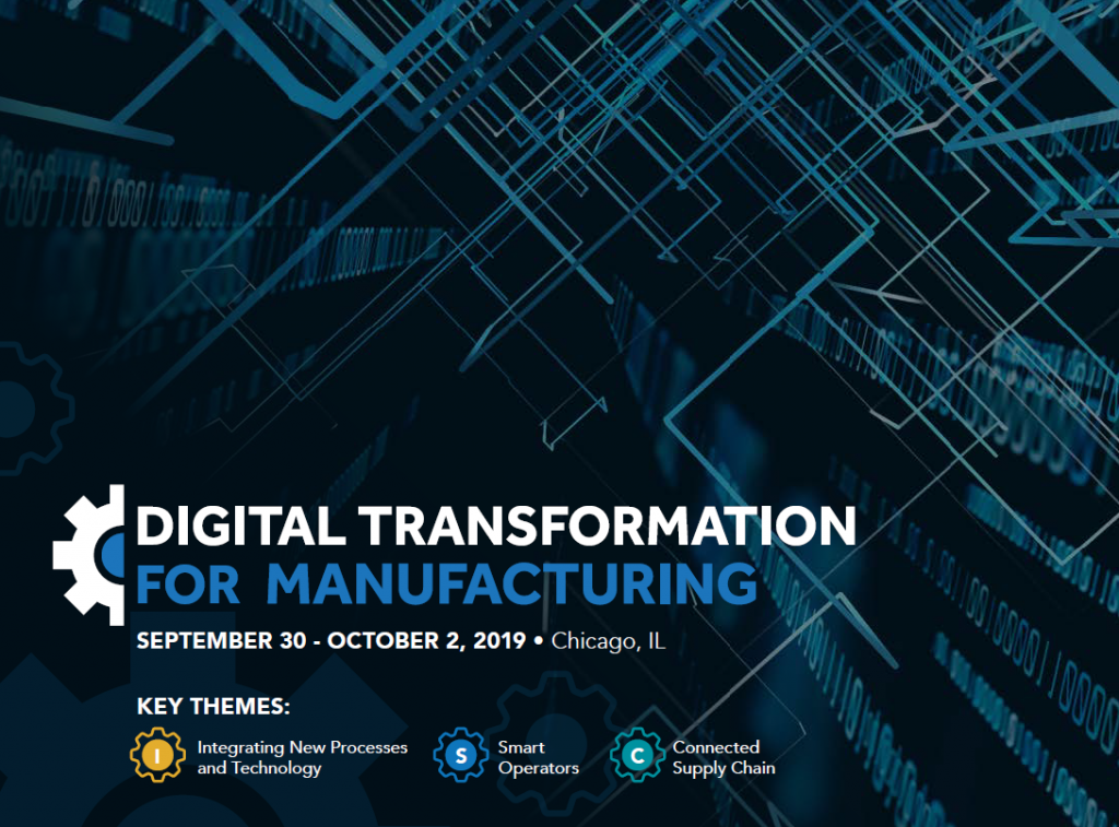 Digital Transformation for Manufacturing Agenda
