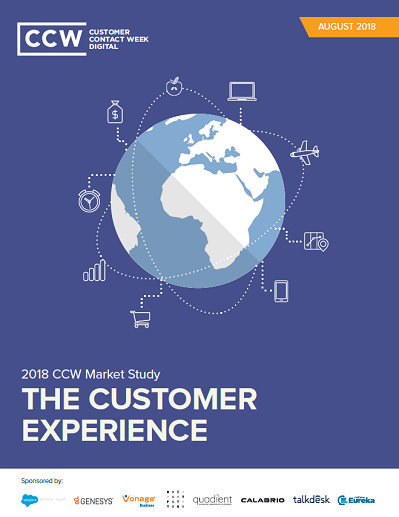 2018 CCW Market Study: The Customer Experience