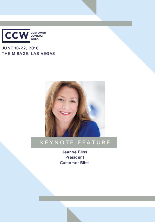 Keynote Feature: Jeanne Bliss