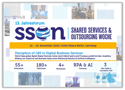 Partner Content: Shared Services & Outsourcing Woche Agenda