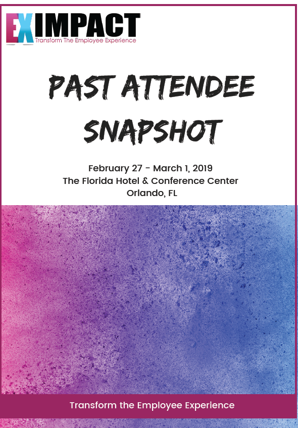 Past Attendee Snapshot: EX Impact 2019