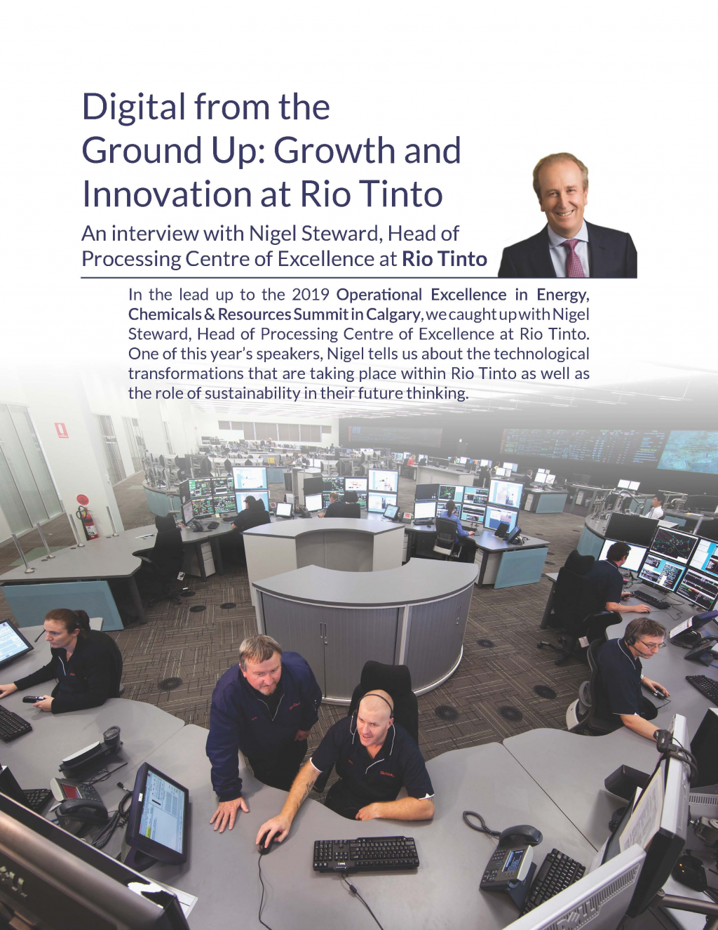 Digital from the Ground Up: Growth and Innovation at Rio Tinto