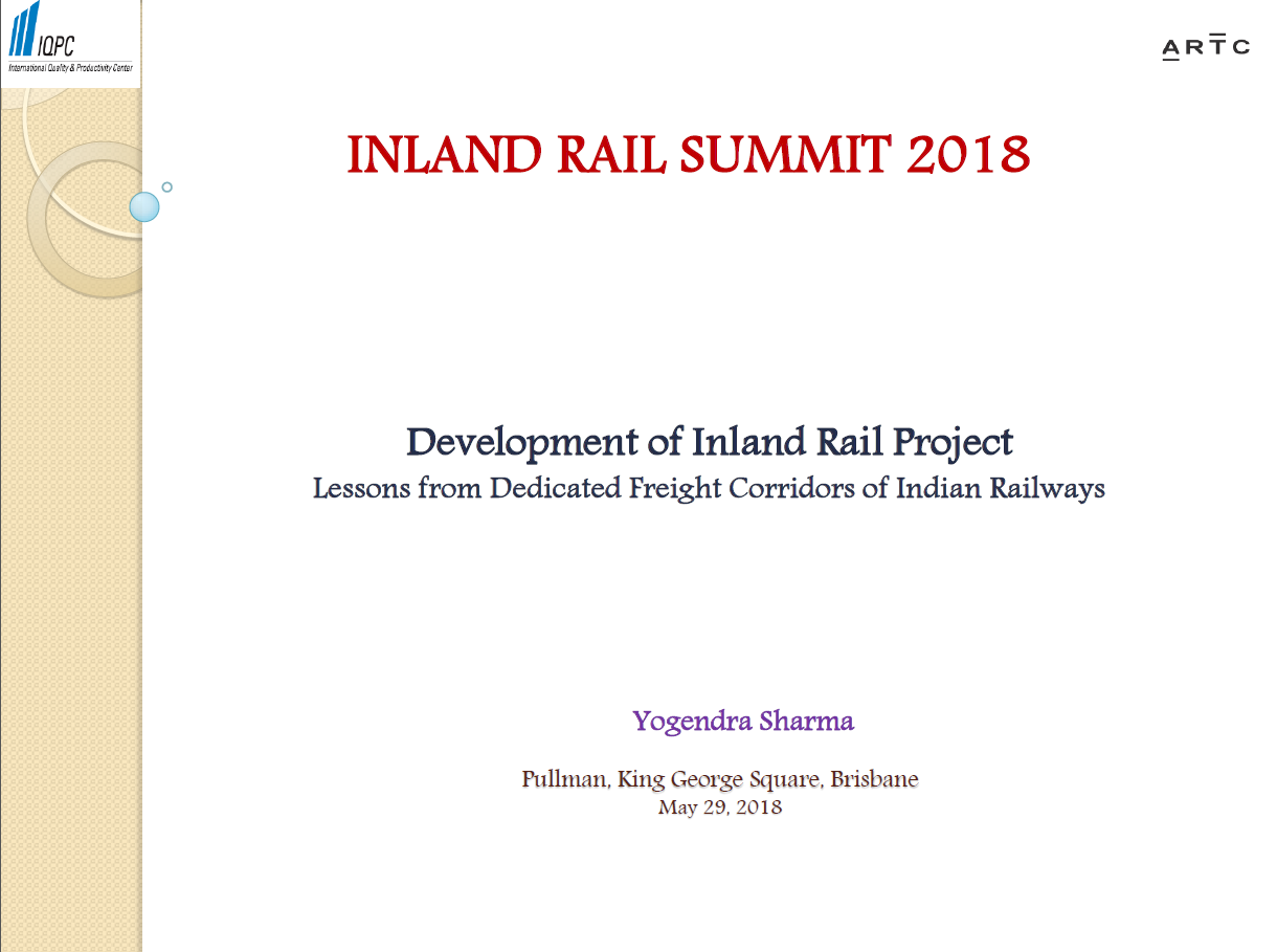 Establishing Last Mile Rail Connectivity Through PPP on Indian Railways to Attract Freight Business Back on Rail