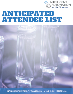 2019 IA in Pharma Anticipated Attendee Snapshot