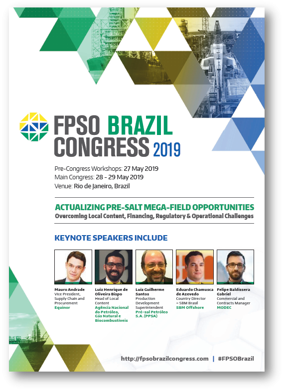 View Full Agenda - FPSO Brazil Congress 2019
