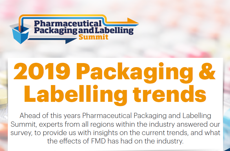 2019 Pharmaceutical Packaging & Labelling trends: