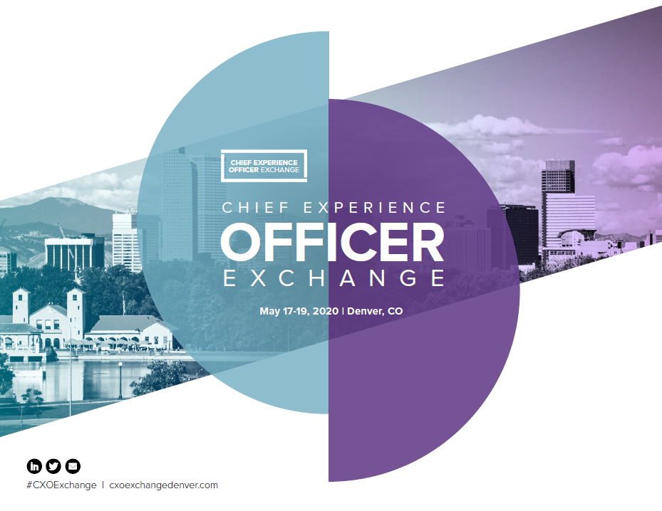 Chief Experience Officer Denver Event Guide