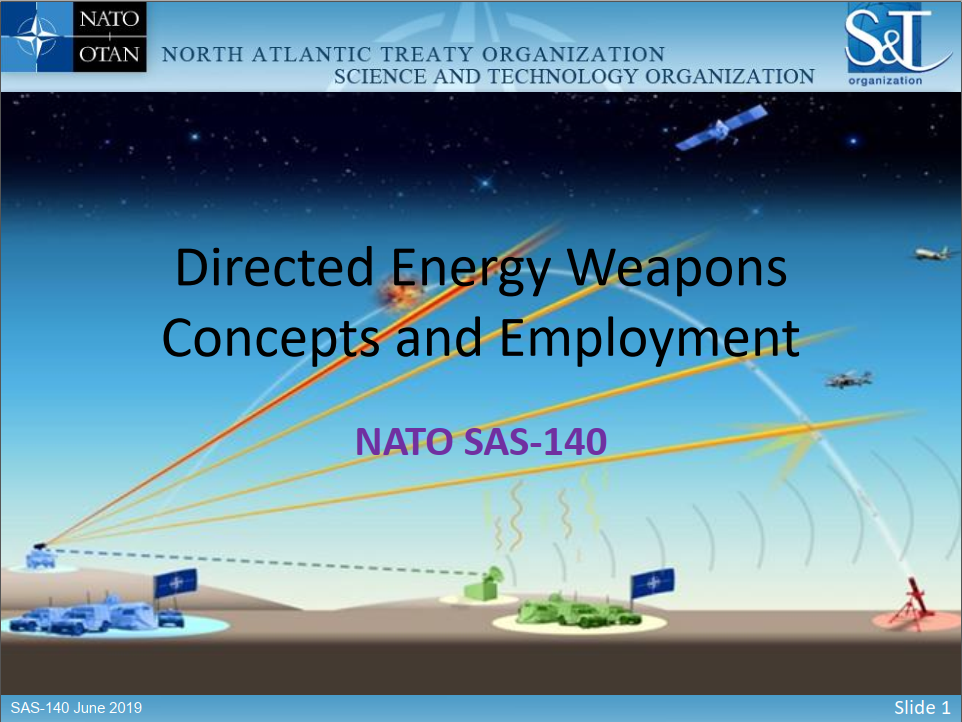 NATO'S Plans and Programs for the Development of DEW