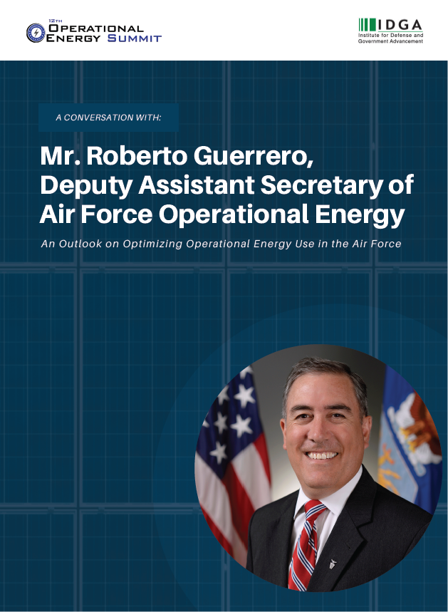 A Conversation with Mr. Roberto Guerrero