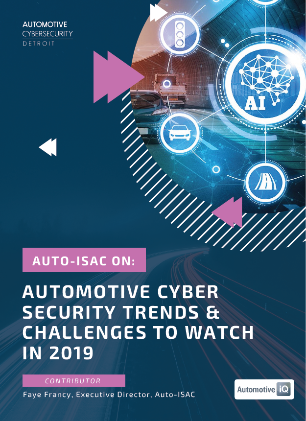 Auto-ISAC: Automotive Cybersecurity Trends & Challenges to Watch in 2019