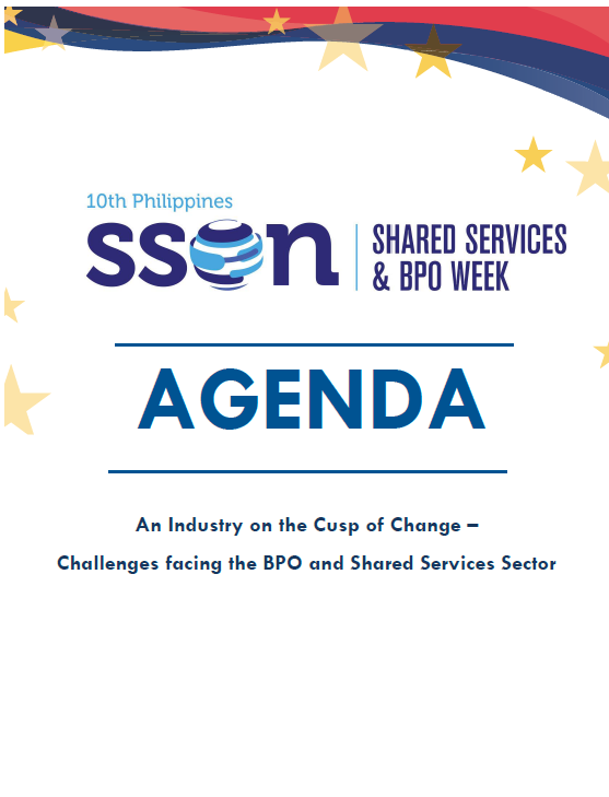 View 10th Philippines Shared Services and BPO Week Agenda