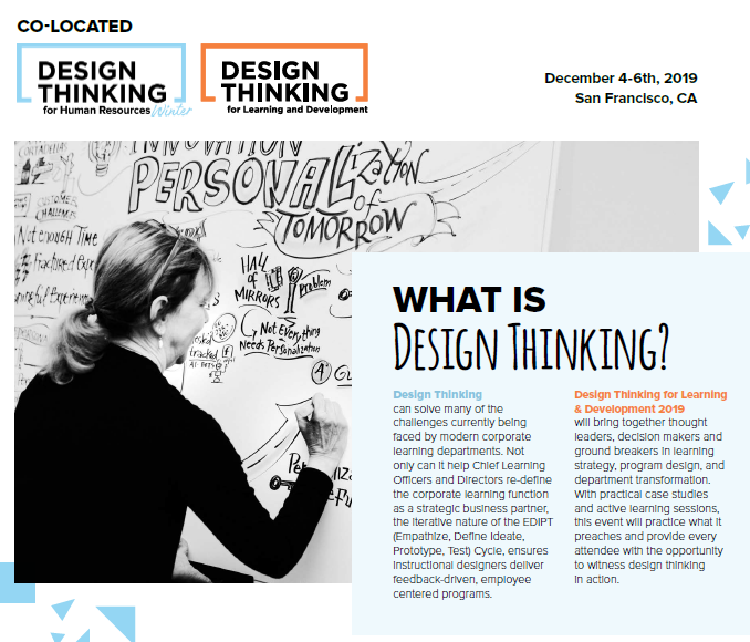 Benefits of Attending Both Design Thinking HR Winter and L&D 2019