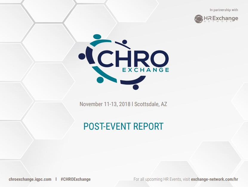 CHRO Exchange Post Event Report