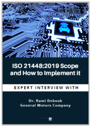 Interview: ISO 21448:2019 Scope and How to implement it