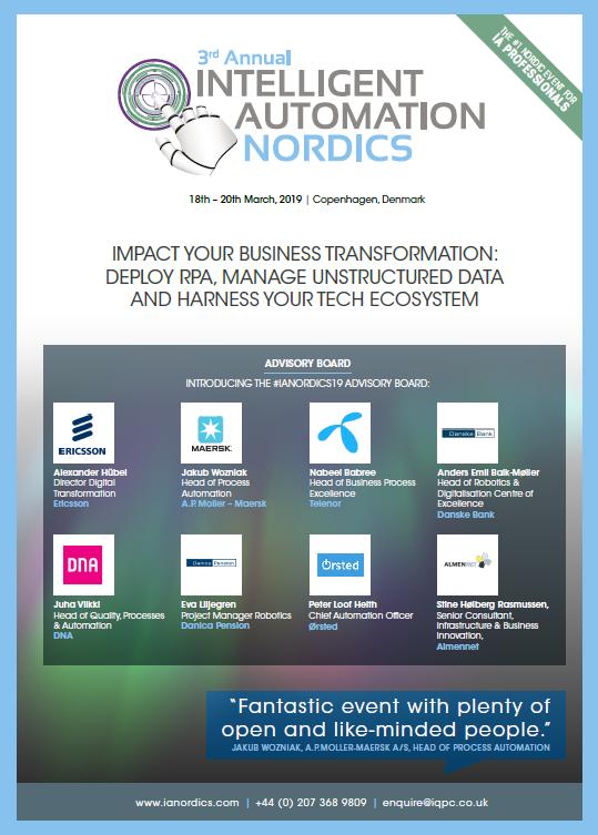 Intelligent Automation Nordics 2019 Event Snapshot