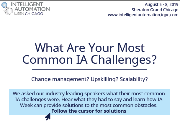 Expert Insights: What Are Your Most Common IA Challenges