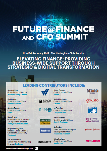 Future of Finance & CFO Summit Snapshot Event Guide