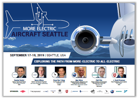More Electric Aircraft Seattle Conference 2019: Registration Form