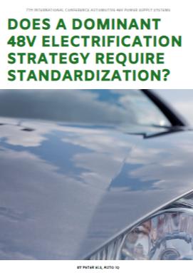 Partner Content: Standardization? Emission Standards and 48V