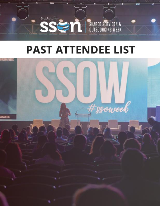 SSOW Autumn 2019: Past Attendee List