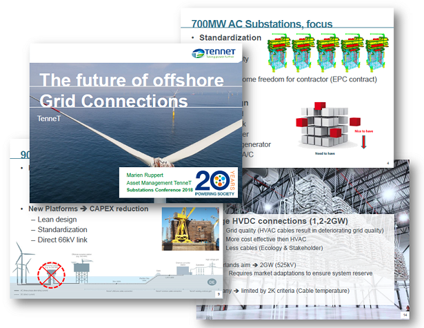 "TenneT Presentation on ""The future of Offshore Grid Connections"""