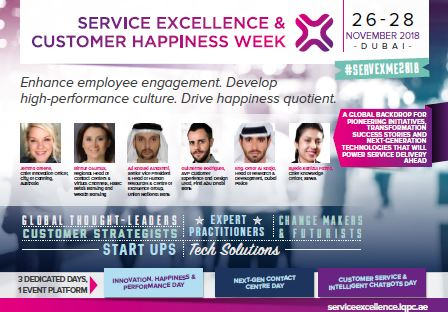 Service Excellence and Customer Happiness Week