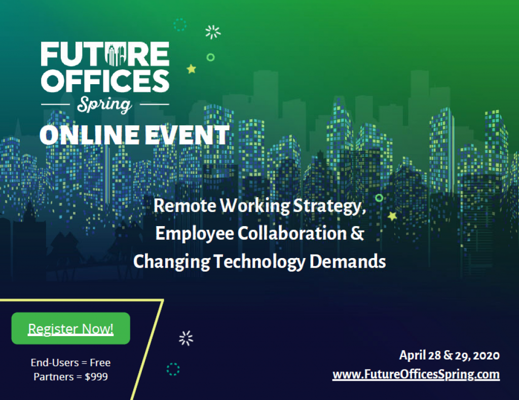 Future Offices Spring ONLINE 2020 Agenda