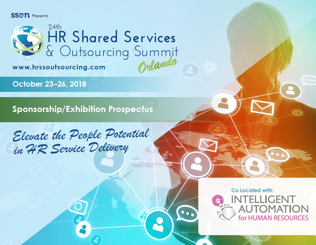 24th HR Shared Services & Outsourcing Fall - Sponsorship Prospectus