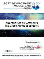 Past Port Development Middle East Forum Attendee Snapshot