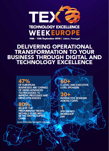 TEX Week Europe 2018 brochure