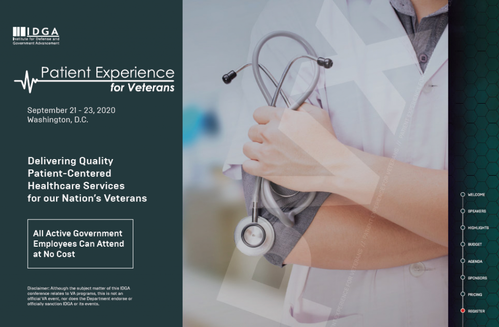 Patient Experience for Veterans 2020 Agenda