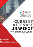 CURRENT ATTENDEE LIST - Cold Chain Global Forum 2018