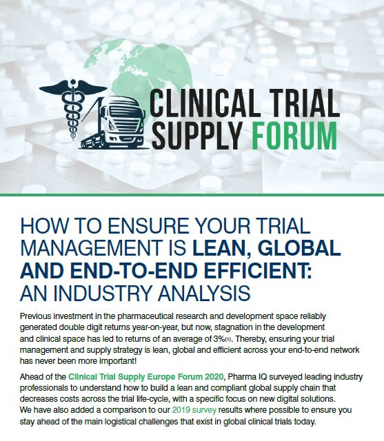 How to Ensure Your Trial Management is Lean, Global and End-To-End Efficient: An Industry Analysis