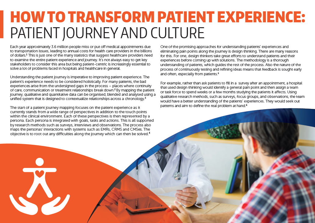 Download the Article - How to transform patient experience: Patient journey and culture