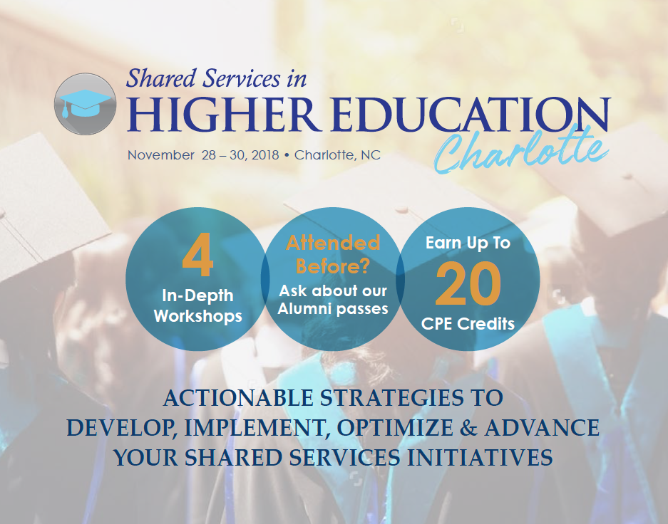Shared Services for Higher Education Charlotte