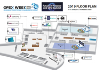 Exhibition Floor Plan - Operational Excellence (OPEX) Middle East Week: Business Transformation Leaders Summit