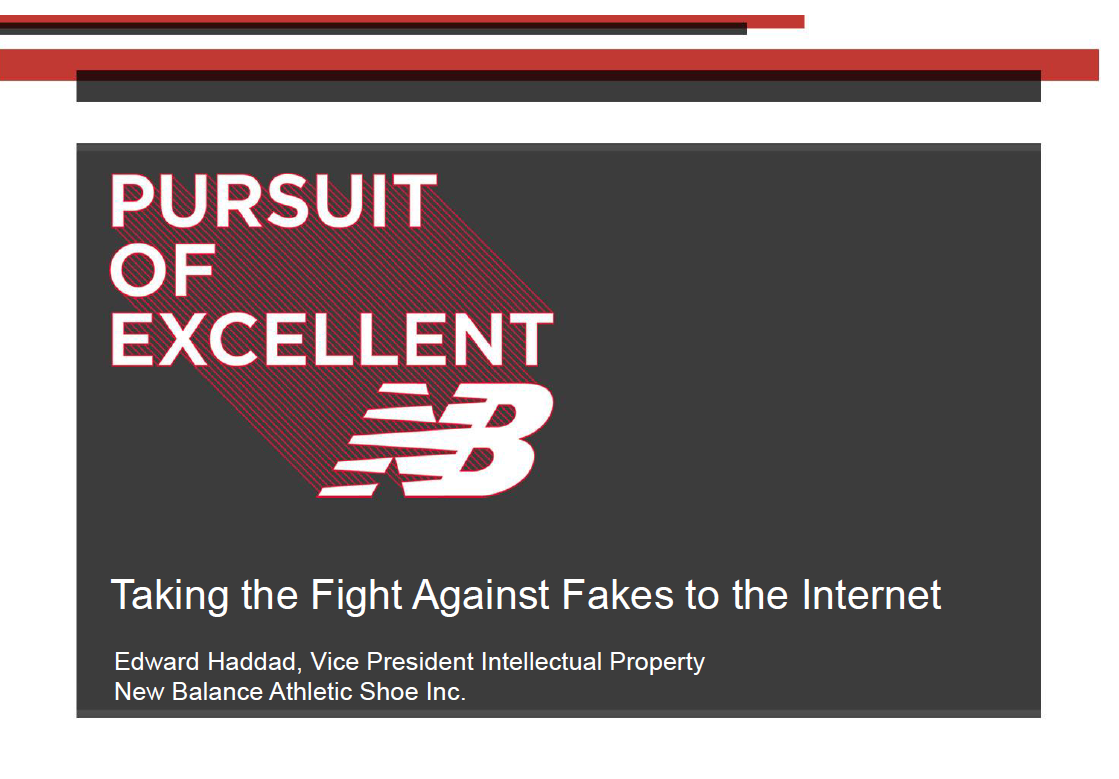 Taking the Fight Against Fakes