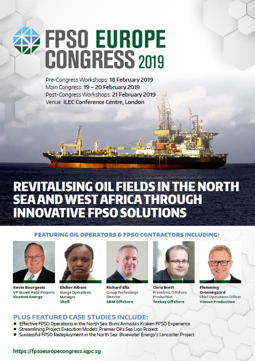 View Full Agenda - FPSO Europe Congress 2019