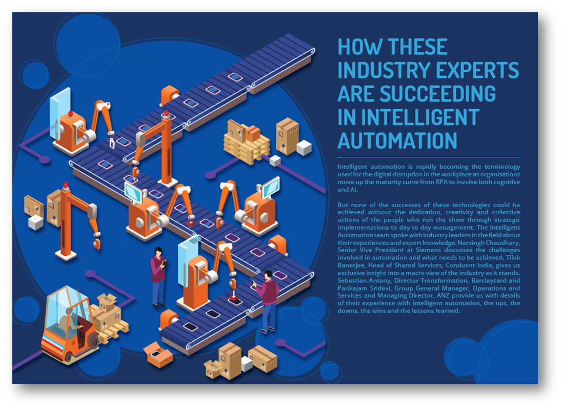 How these industry experts are succeeding in Intelligent Automation