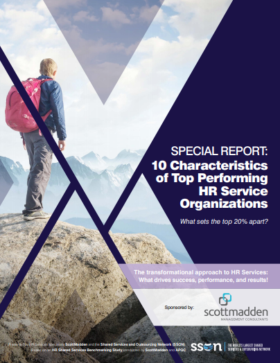 The 10 Characteristics of Top Performing HR Service Organisations