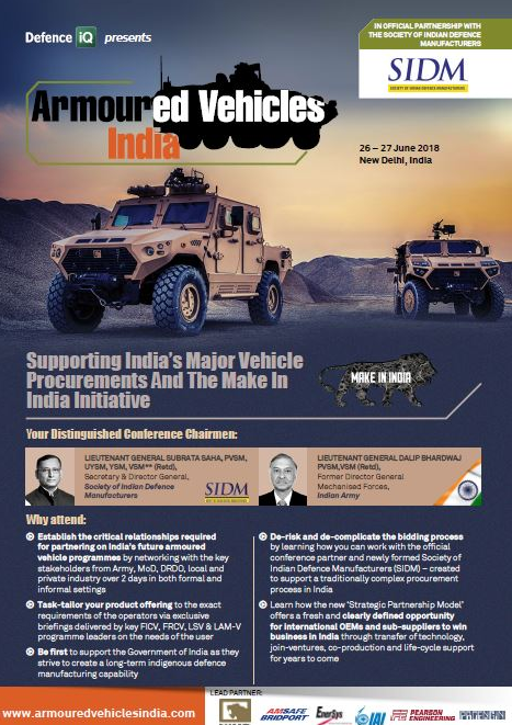 Armoured Vehicles India Event Guide