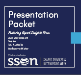 Presentation Packet | Shared Services & Outsourcing Week 2020