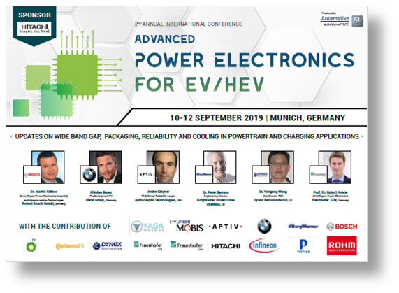Agenda Download: Advanced Power Electronics for EV/HEV