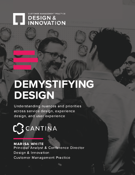 Cantina Special Report: Demystifying Design LINK ONLY