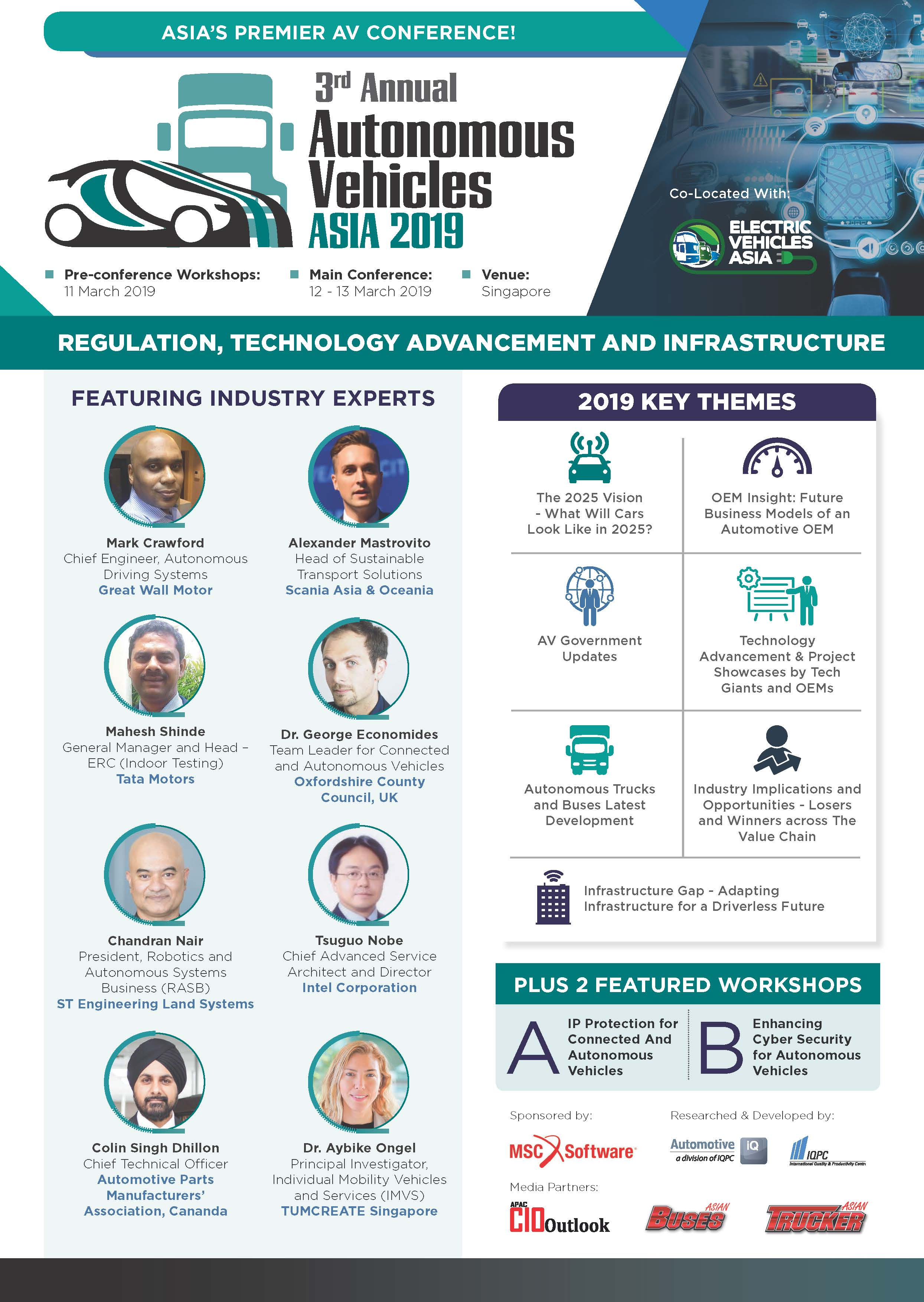 Download Your Event Guide - 2019 Autonomous Vehicles Asia Summit Brochure
