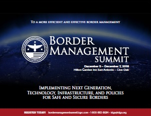 Border Management Summit 2018 Onsite Agenda
