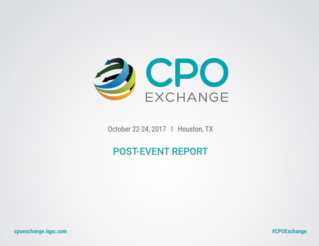 2017 CPO Exchange Post Event Report!