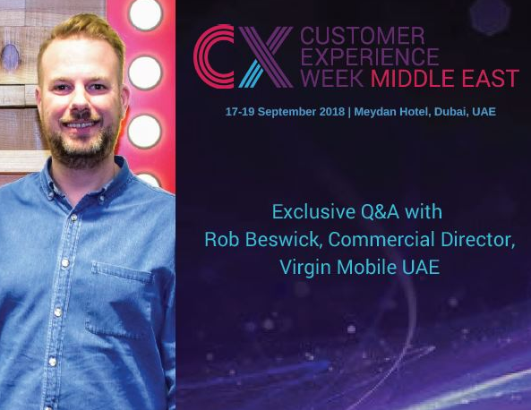 Exclusive Q&A with Rob Beswick, Commercial Director, Virgin Mobile UAE