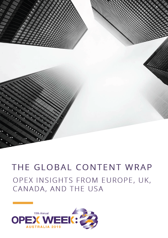 The Global Content Wrap: OPEX Insights from Europe, the UK, Canada and the USA