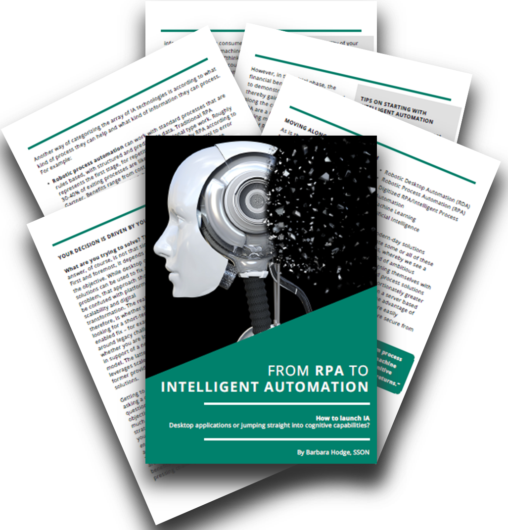 From RPA to Intelligent Automation- How to launch IA